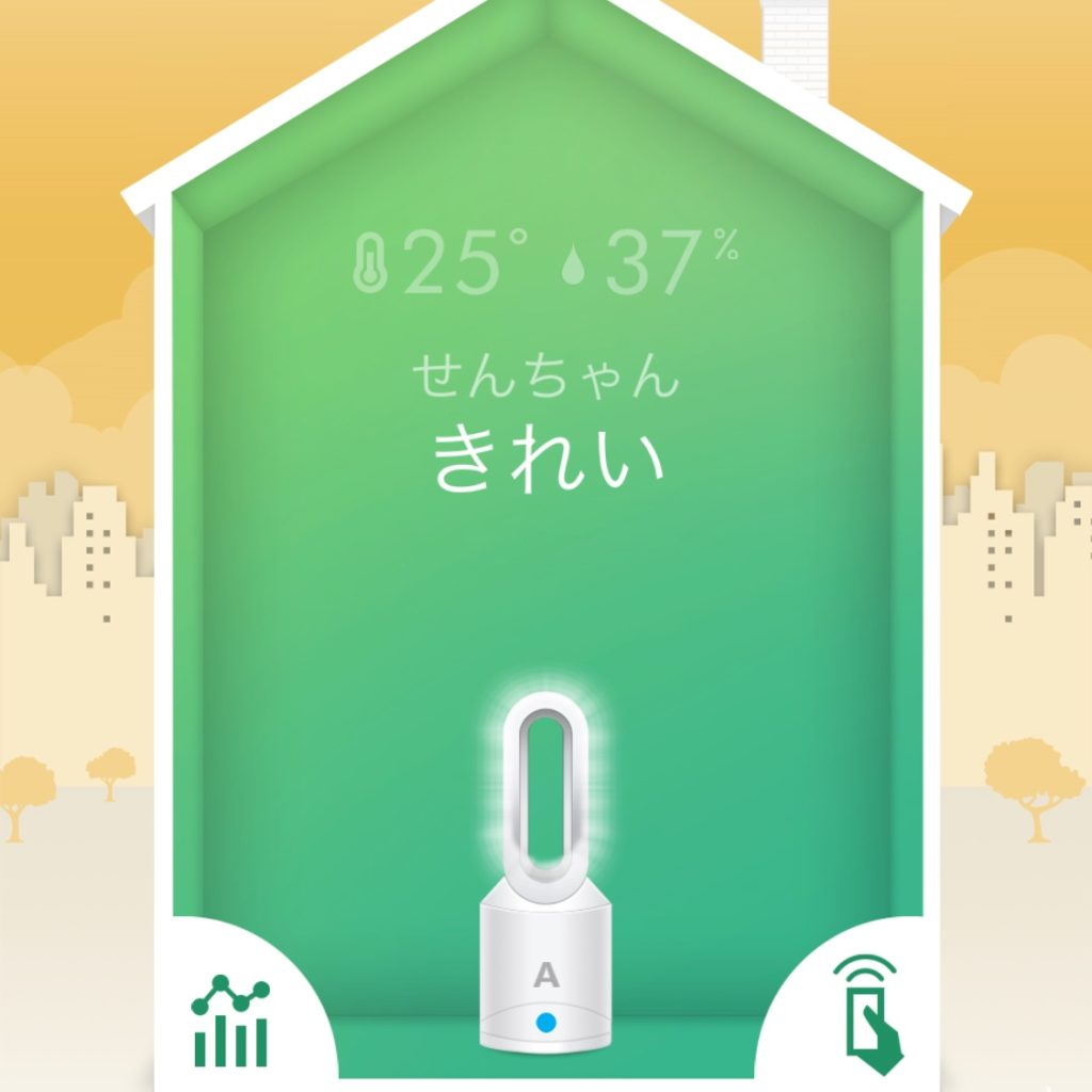 dyson pure hot+cool linkのせんちゃん