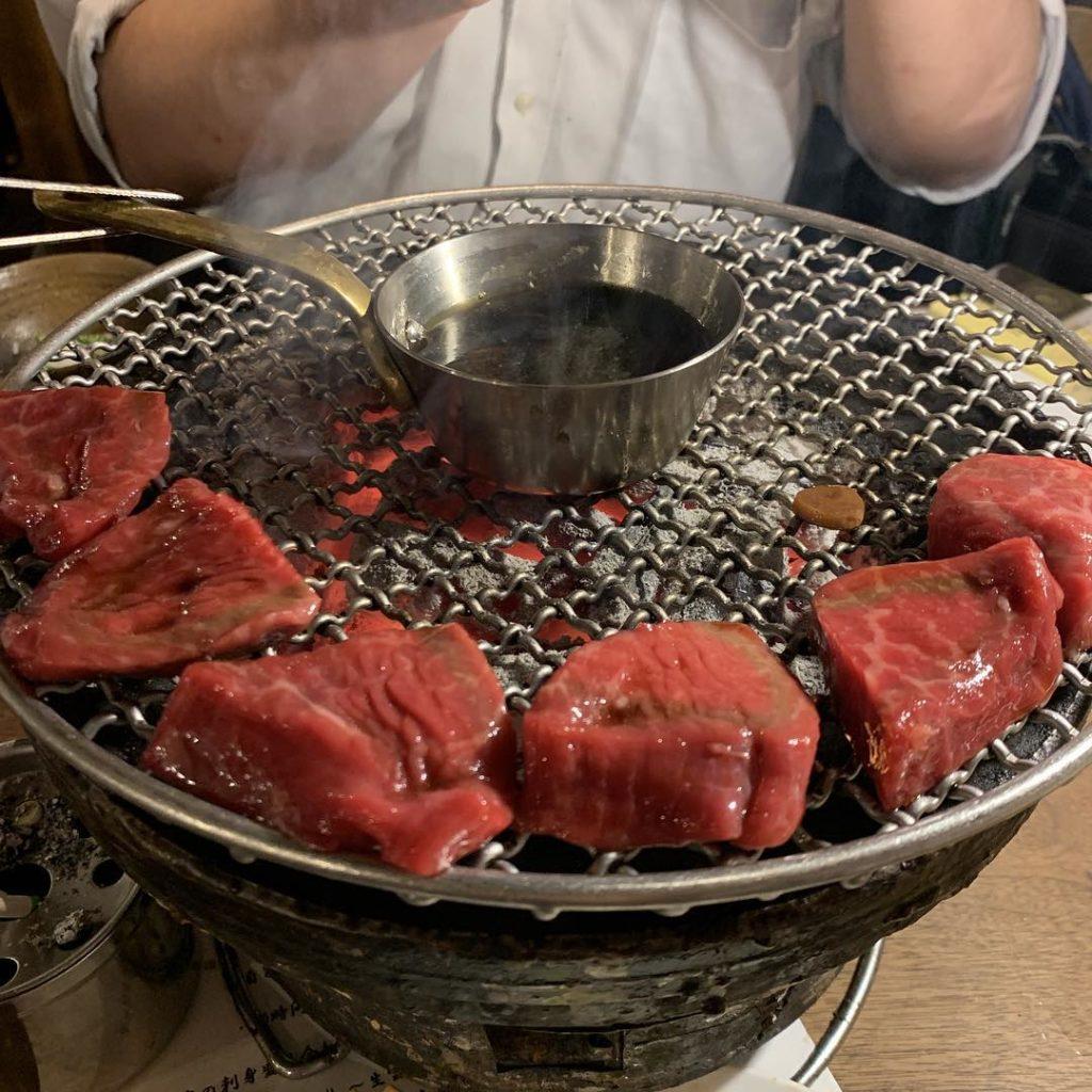 【名物②】和牛赤身ロック/ロック飯〜高知県「特Aにこまる米」〜