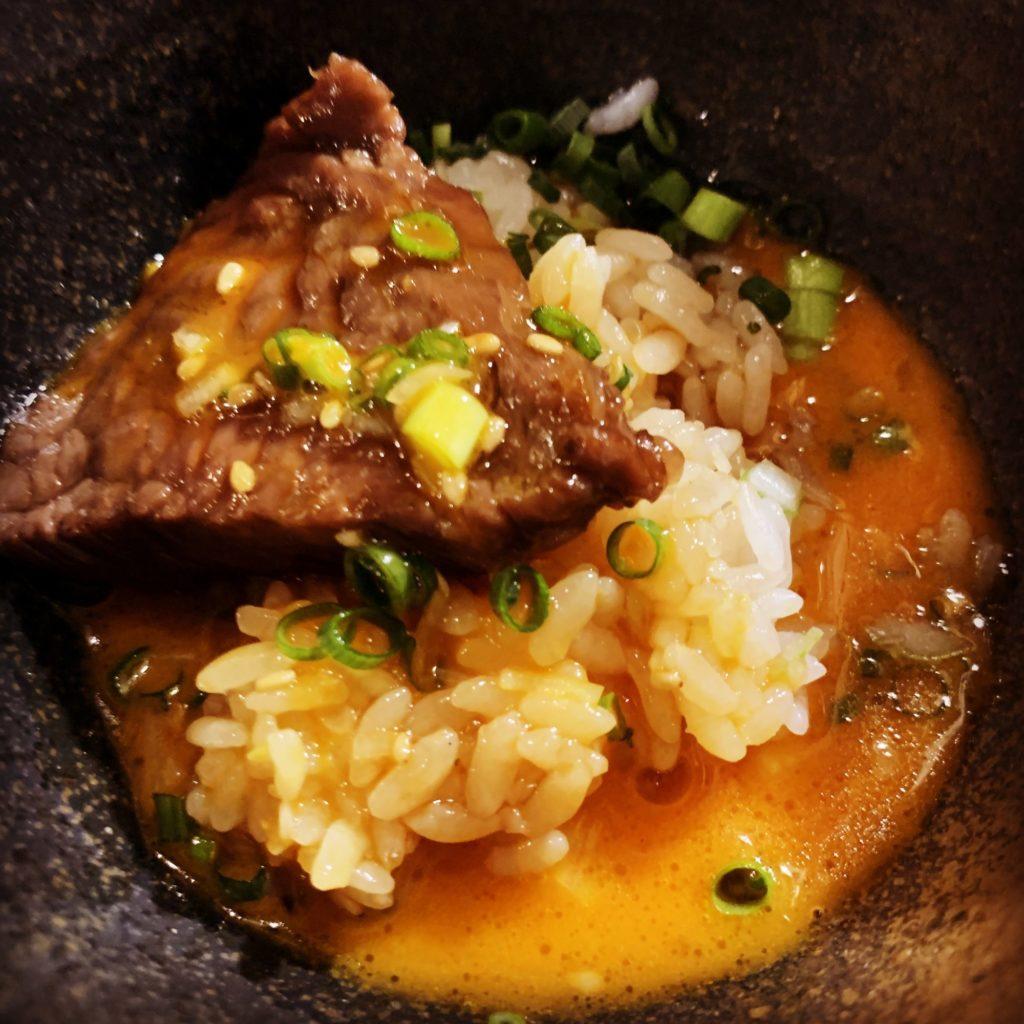 ロック飯with生卵