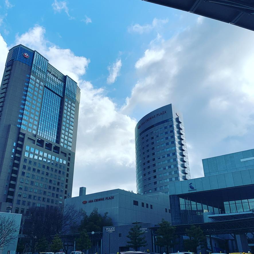 金沢のANA CROWNE PLAZA HOTEL