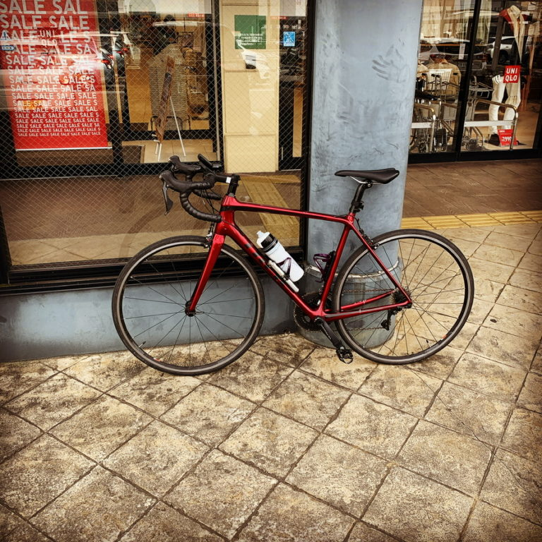 自転車置場がない?
